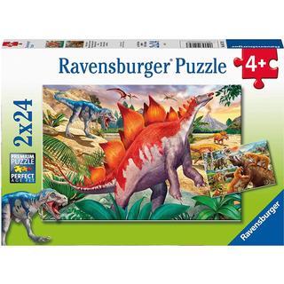 Ravensburger Jurassic Wildlife 2x24 Pieces