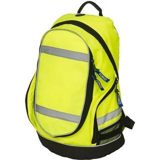 Yoko London Hi-Vis Backpack - Yellow/Black