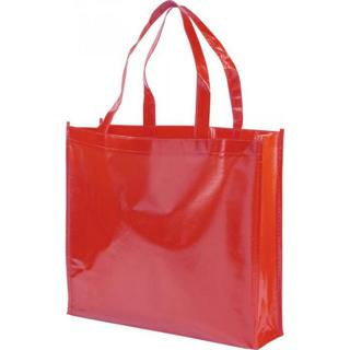 Bullet Lamineted Non Woven Tote Bag - Red