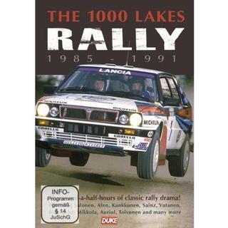 The 1000 Lakes Rally 1985-91 DVD