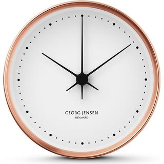 Georg Jensen Koppel Stainless steel 22cm Wall clock