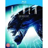 Alien blu ray Movies Alien Anthology [Films 1-4] [Blu-ray] [1979] [4 Disc Set]