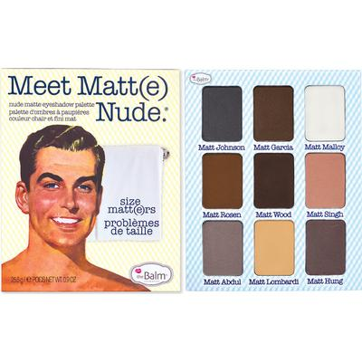 The Balm Meet Matte Eyeshadow Palette Nude