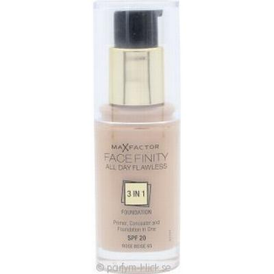 Max Factor Facefinity All Day Flawless 3 in 1 Foundation SPF20 #65 Rose Beige