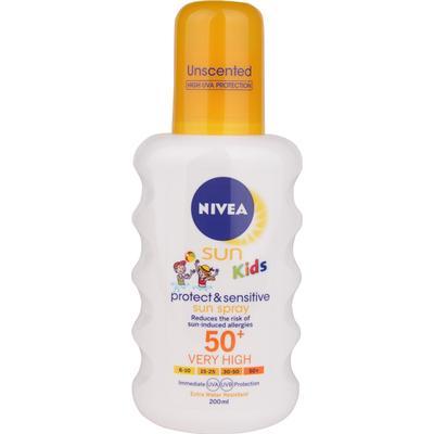 Nivea Sun Kids Protect & Sensitive Sun Spray SPF50+ 200ml
