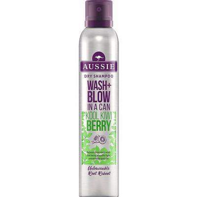 Aussie Wash + Blow Kool Kiwi Berry Dry Shampoo 180ml