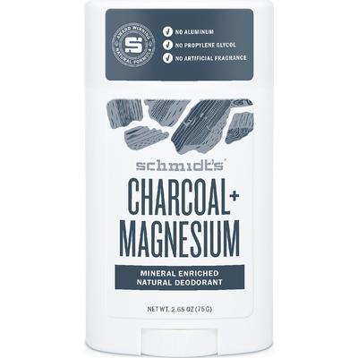 Schmidt's Charcoal + Magnesium Deo Stick 75g