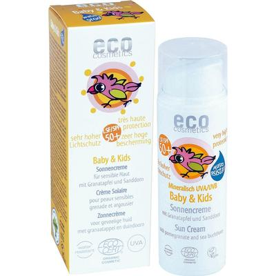 Eco Cosmetics Baby & Kids Sun Cream Very High Mineral Protection SPF50+