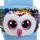 TY Sequin Slides - Owen The Multicolor Owl