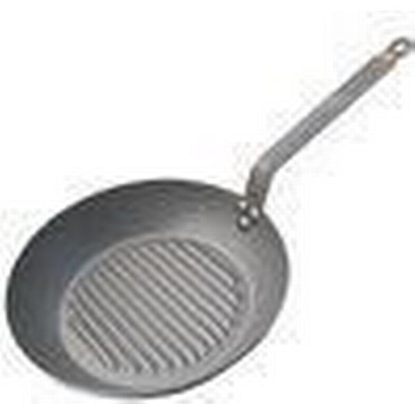 De Buyer Mineral B Element Round Grilling Pan 26cm