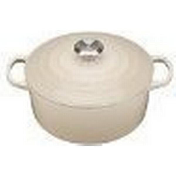 Le Creuset Almond Signature Cast Iron Round Other Pots 24cm