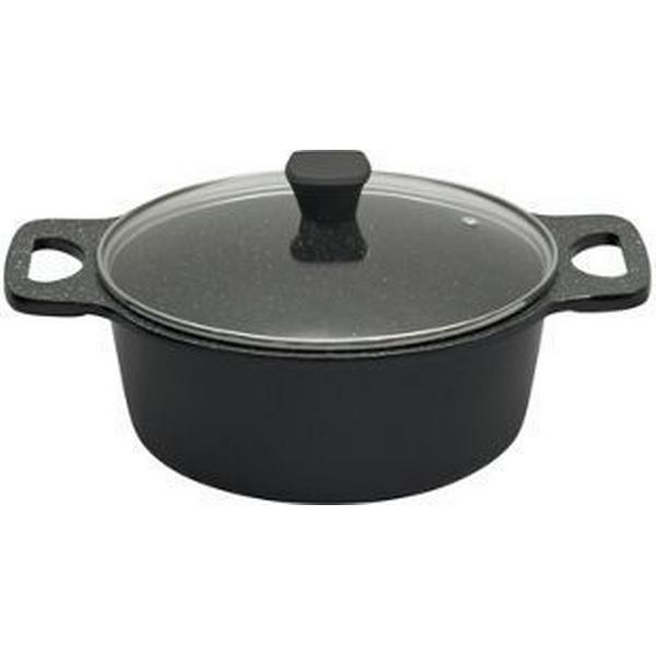 Prestige Stone Quartz Casserole Other Pots with lid 24cm