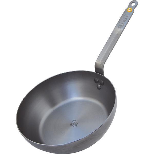 De Buyer Mineral B Element Country Fry Pan Sauteuse 28cm