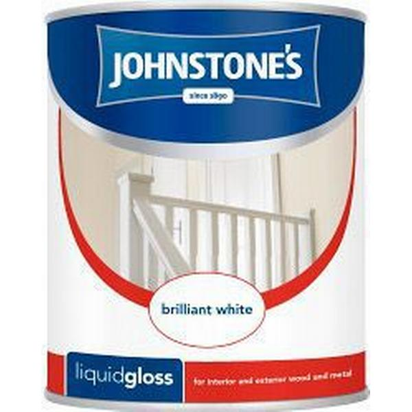 Johnstones Liquid Gloss Wood Paint White 0.75L