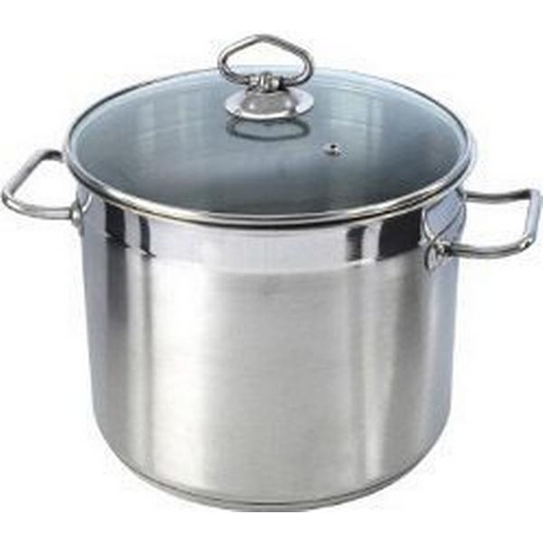 Pendeford Stainless Steel Collection Stock Pot Stockpot with lid 24cm
