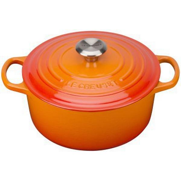 Le Creuset Volcanic Round Other Pots with lid 24cm