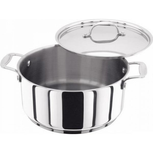 Stellar 7000 Casserole Other Pots with lid 24cm
