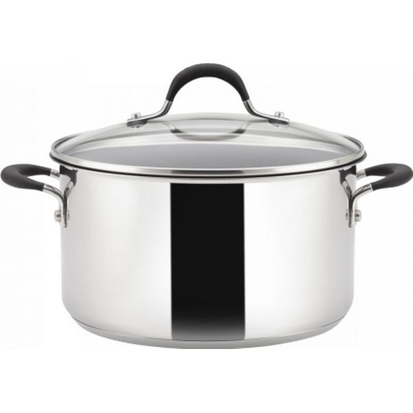 Circulon Momentum Stainless Steel Stockpot with lid 24cm