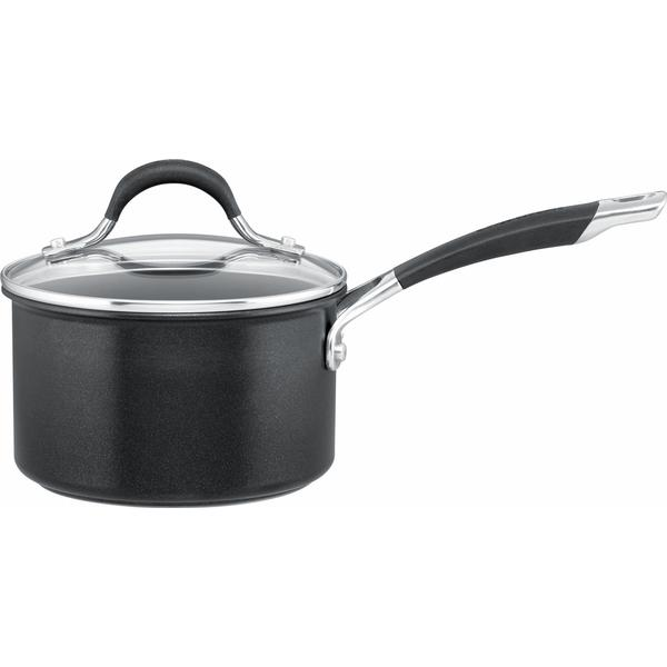 Circulon Momentum Hard Anodized Saucepan with Helper Handle Sauce Pan with lid 20cm