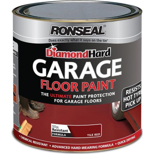 Ronseal Diamond Hard Garage Floor Paint Red 2.5L