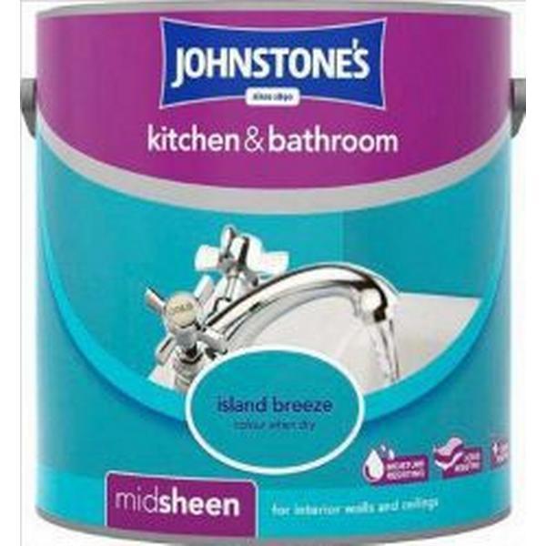 Johnstones Kitchen & Bathroom Wall Paint, Ceiling Paint Blue 2.5L