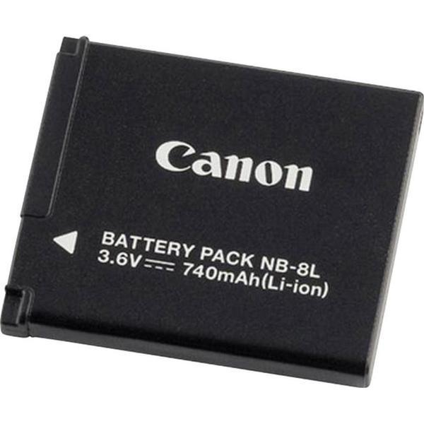 Canon Kamera-batteri Canon NB-8L 3.6 V 740 mAh