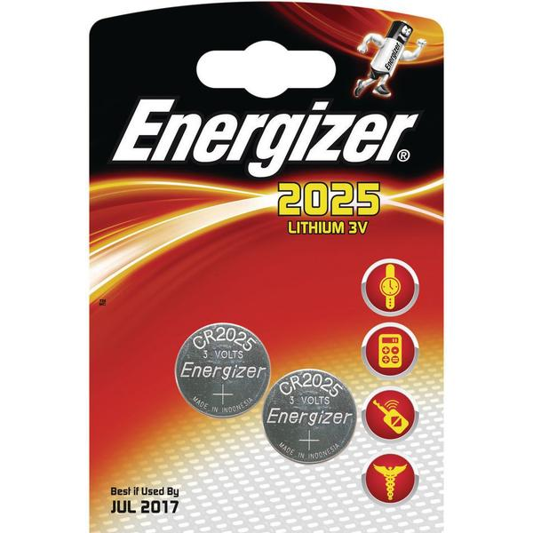 Energizer CR2025 2-pack