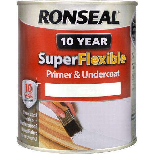 Ronseal Super Flexible Wood Paint White 0.75L