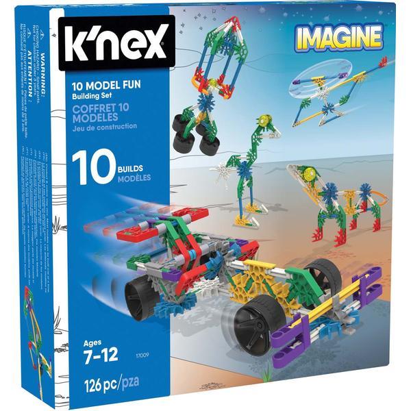 Knex 10 Model Fun Building Set