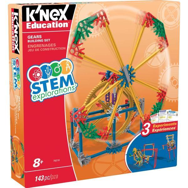 Knex Stem Explorations Gears Building Set
