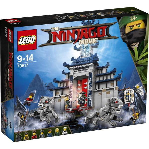Lego The Ninjago Movie Temple of the Ultimate Ultimate Weapon 70617