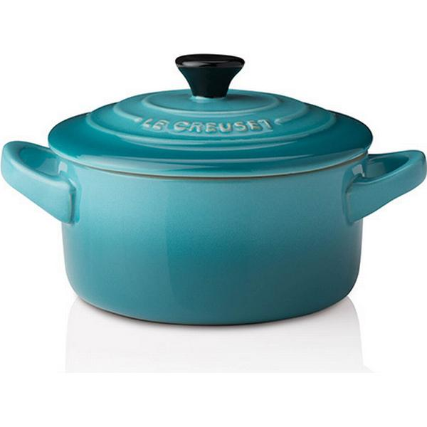 Le Creuset Teal Stoneware Petite Other Pots with lid 9cm