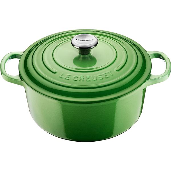 Le Creuset Rosemary Signature Cast Iron Round Other Pots with lid 20cm