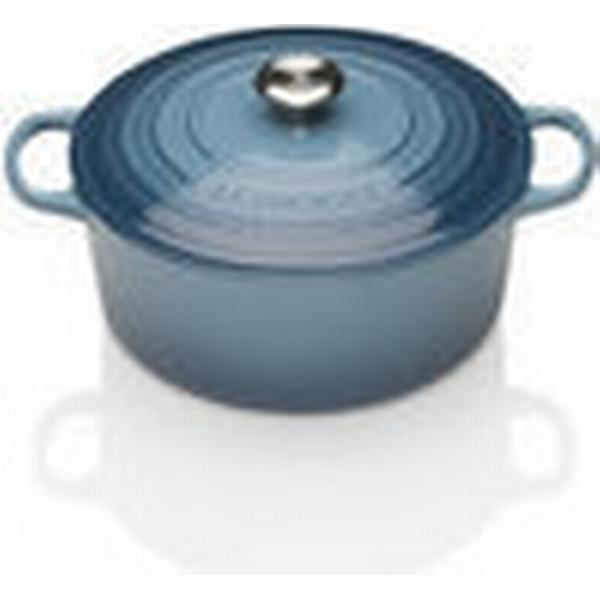 Le Creuset Marine Signature Cast Iron Round Other Pots with lid 24cm