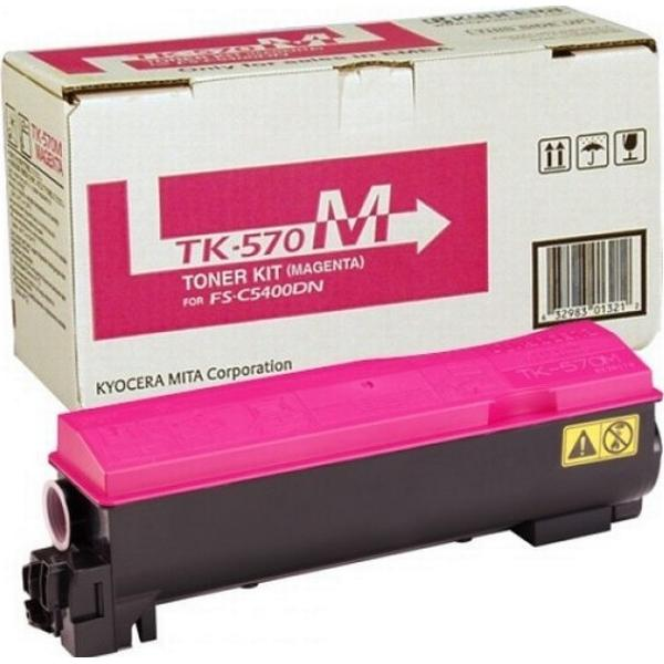 Kyocera (TK-570M) Original Toner Magenta 12000 Pages