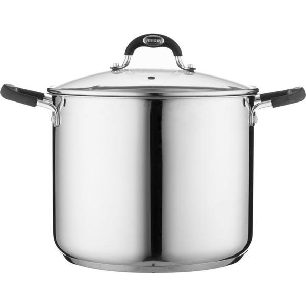 Viners Soft Grip Stockpot with lid 26cm