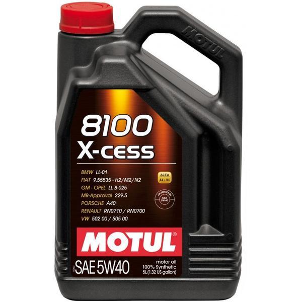Motul Motul 8100 X-cess 5W-40 5 Liter Kanister Motor Oil