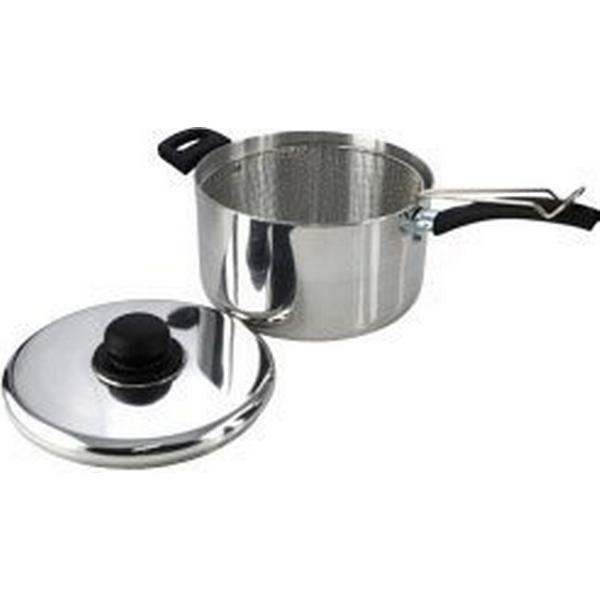 Pendeford Sapphire Polished Sauce Pan with lid 22cm