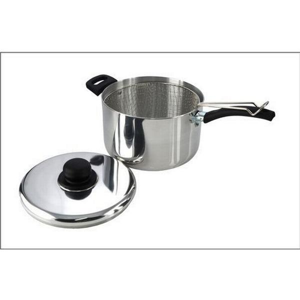 Pendeford Sapphire Polished Sauce Pan with lid 25cm