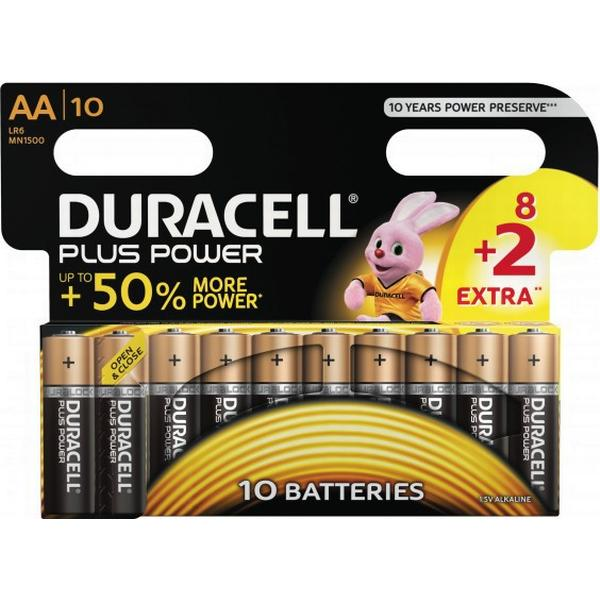Duracell AA Plus Power 10-pack