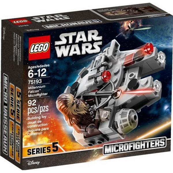 millennium falcon lego  Lego Star Wars Millennium Falcon Microfighter 75193