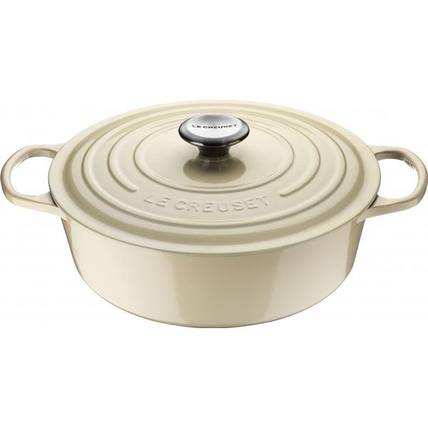 Le Creuset Almond Signature Oval Other Pots 27cm