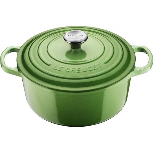 Le Creuset Rosemary Signature Cast Iron Round Other Pots with lid 24cm