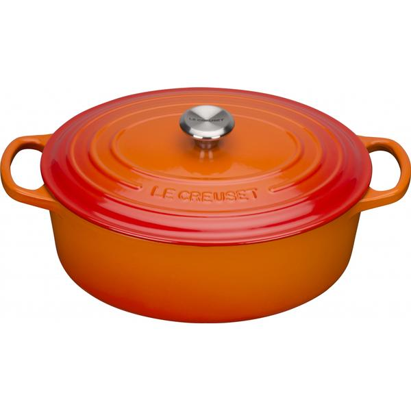 Le Creuset Volcanic Signature Oval Other Pots with lid 27cm