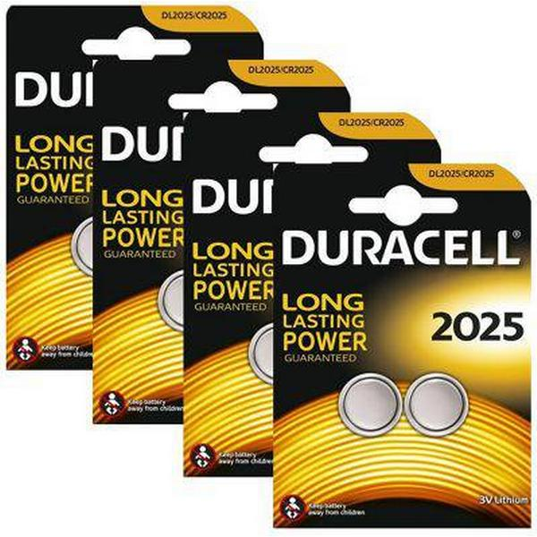 Duracell CR2025 Compatible 8-pack