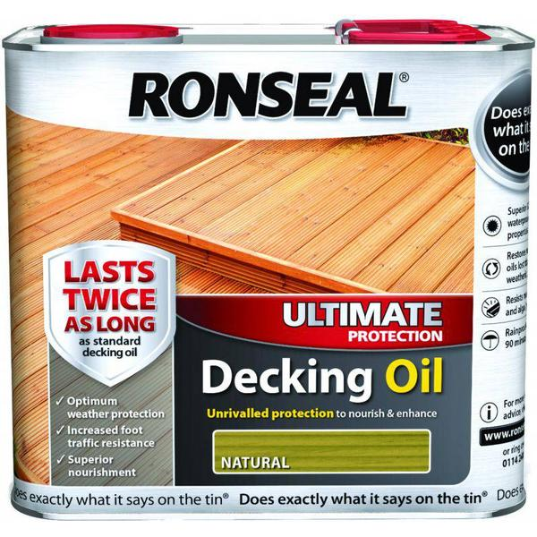 Ronseal Ultimate Protection Decking Oil Green 2.5L