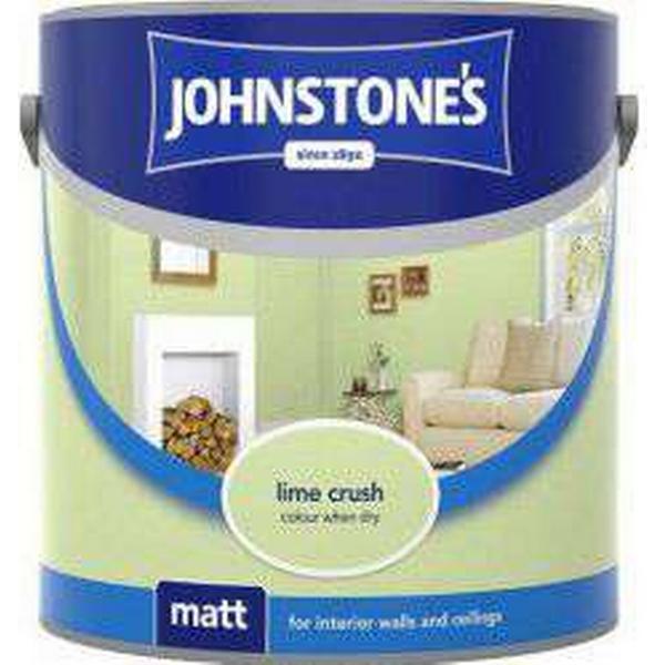 Johnstones Matt Wall Paint, Ceiling Paint Green 2.5L