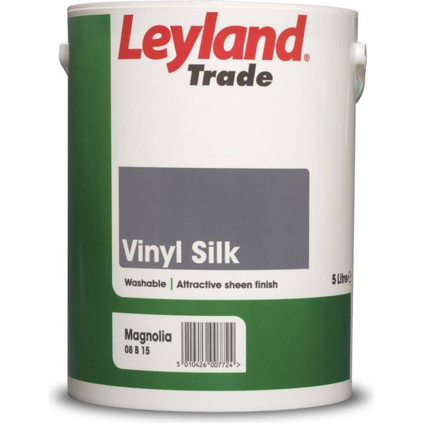 Leyland Trade Vinyl Silk Wall Paint, Ceiling Paint Beige 5L