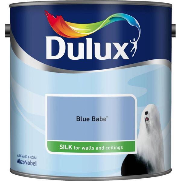 Dulux Silk Wall Paint, Ceiling Paint Blue 2.5L
