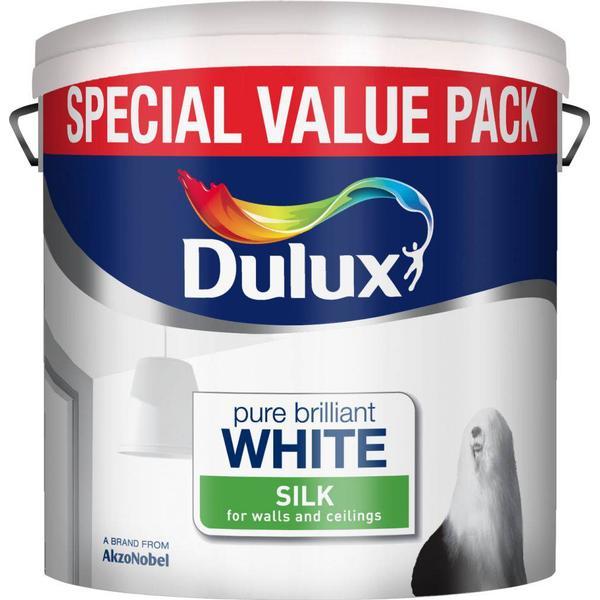 Dulux Silk Wall Paint, Ceiling Paint White 6L